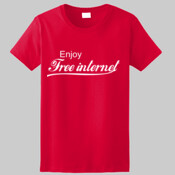 Enjoy Free Internet Tee